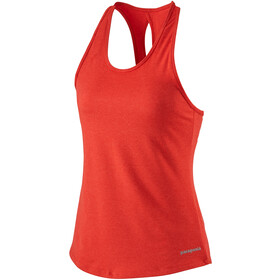 Patagonia Seabrook Run Tank Women, catalan coral
